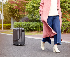 Airwhee1 SR5 self-driving luggage